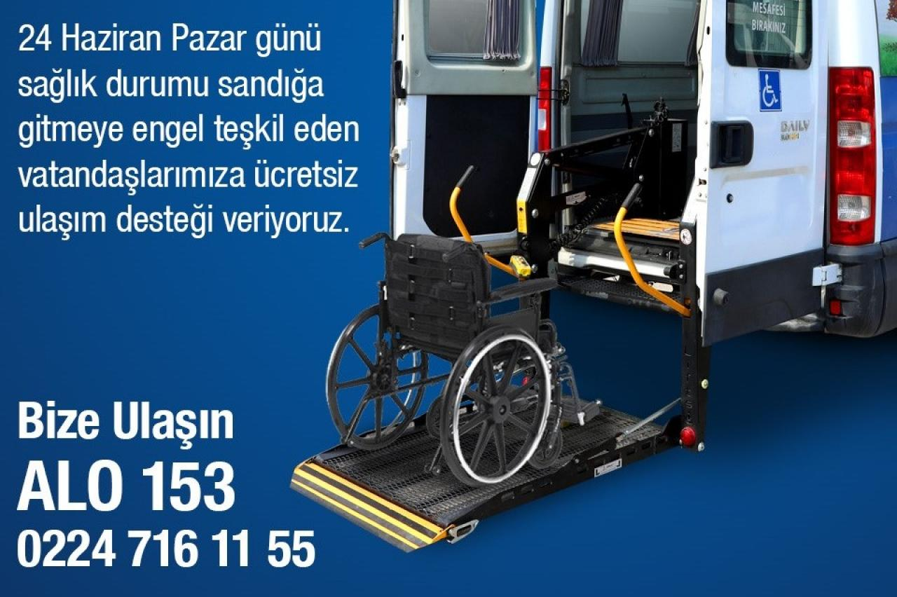 Bursa'da Oy Kullanmaya Engel Yok...