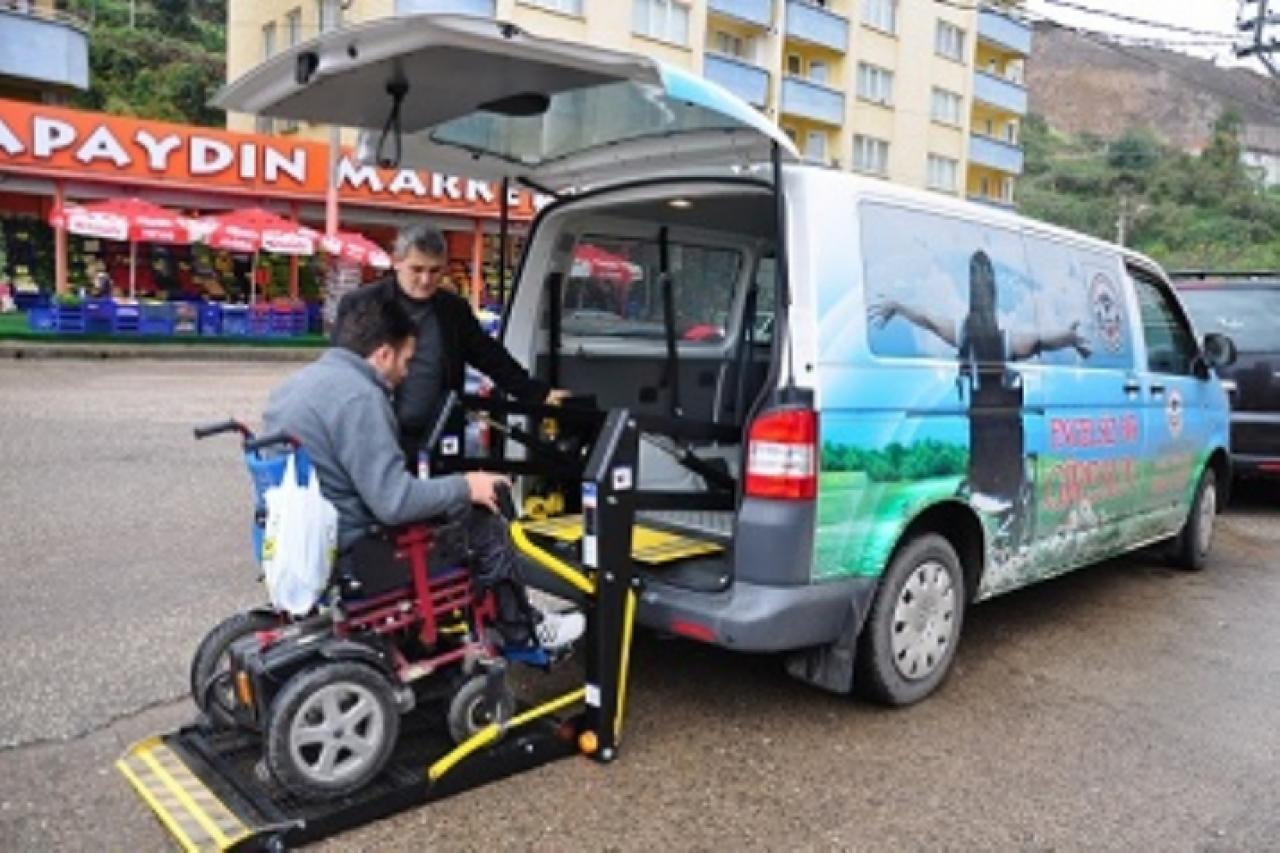 Giresun Belediyesinden Engelliler İçin Araç...