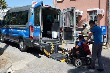Antalya Büyükşehir Alanya'da Engellilerin Yüzünü Güldürüyor...