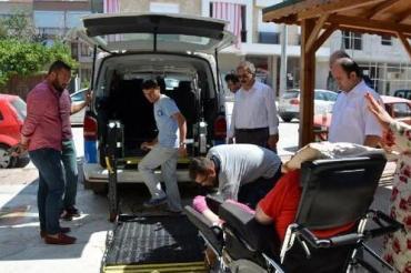 Antalya Büyükşehir Korkuteli Belediyesi Engelsiz Taksi Hizmeti Sürüyor...
