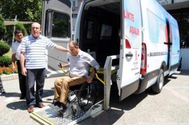 Balıkesir Belediyesi Engelli Hizmet Aracı...