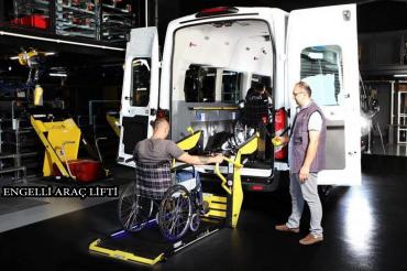 Engelli Araç Lifti Sistemi
