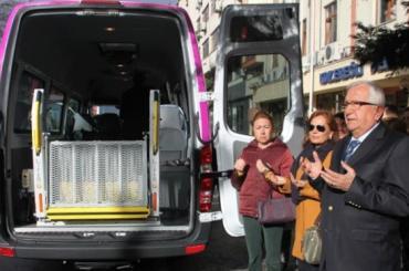 Zonguldak Ereğli Belediyesi Engelli Taşıma Aracı Hizmete Başladı...